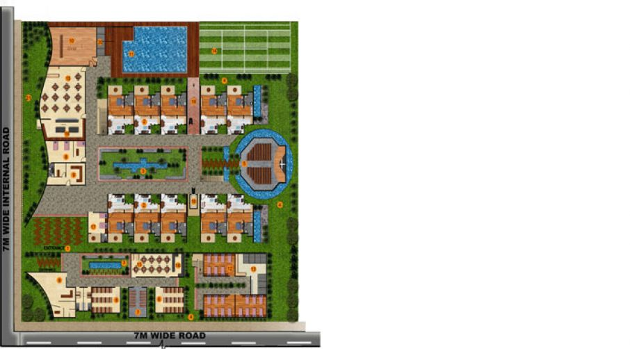 Old age home floor plans for House plans for senior citizens